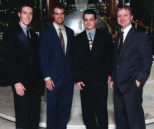Greg Hague's sons