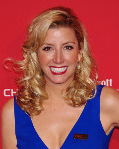 Sara Blakely, high five