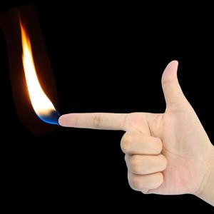 The Time I Burnt My Finger Burnt Finger